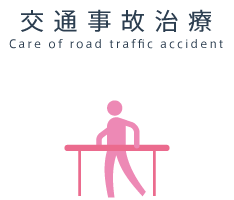 交通事故治療 Care of road traffic accident